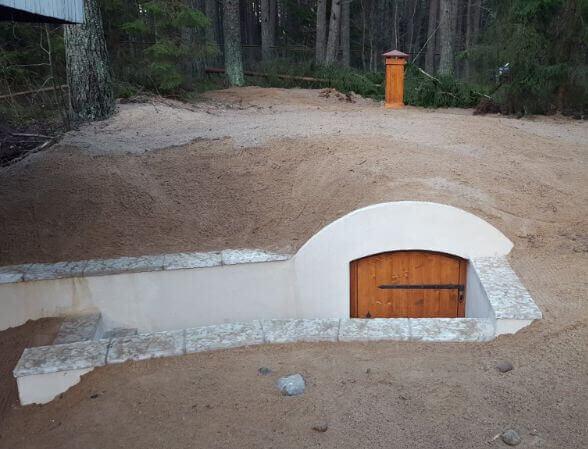 Country cellar in Northern Estonia