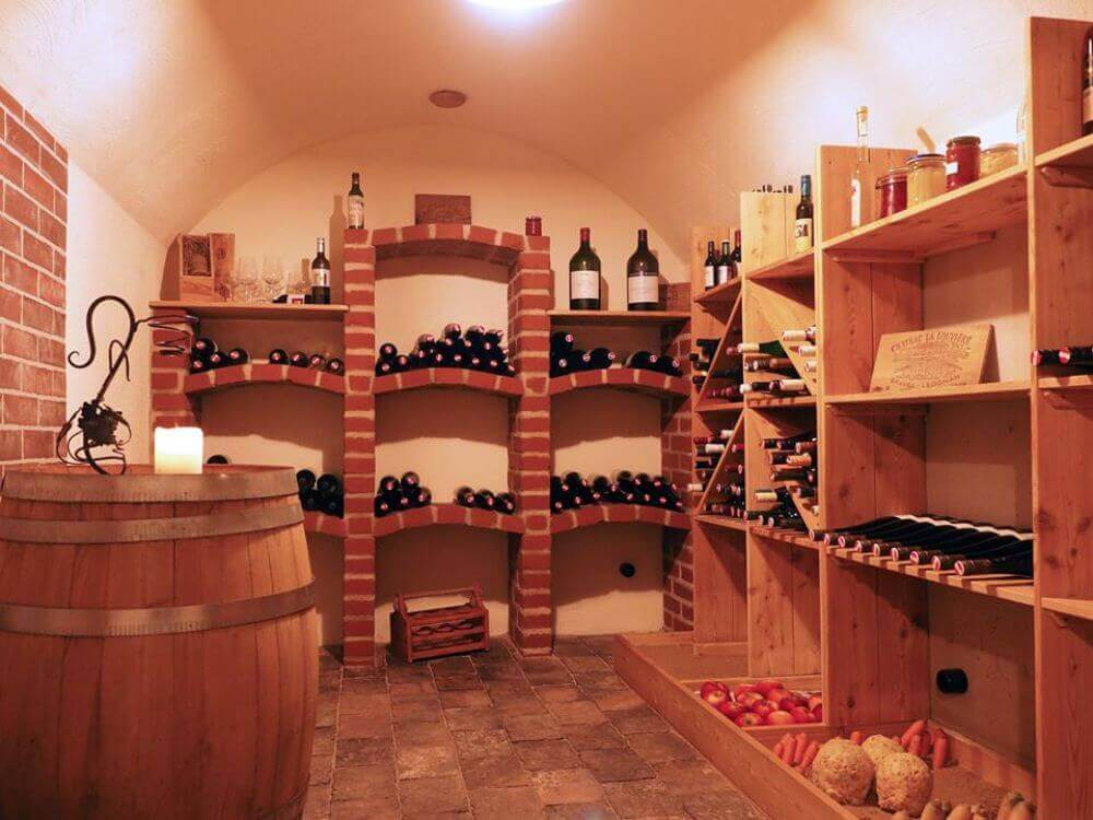 Wine cellar in Austria