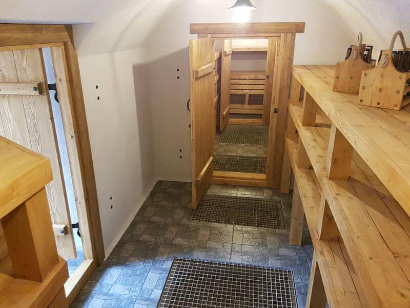 Building a cellar doesn't have to be time consuming!