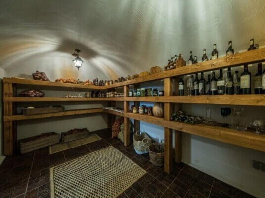 A root cellar that has charm and quality!