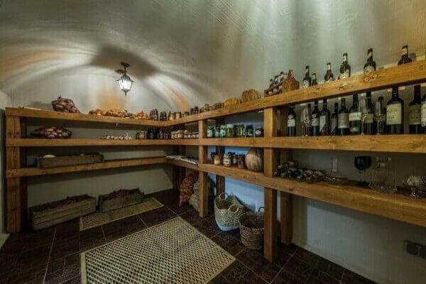 Classic root cellar