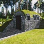 Unser Betonmodul als Sauna