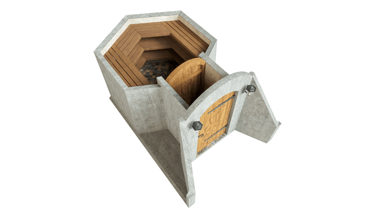 Cellar 4.5 m² STANDARD PACKAGE