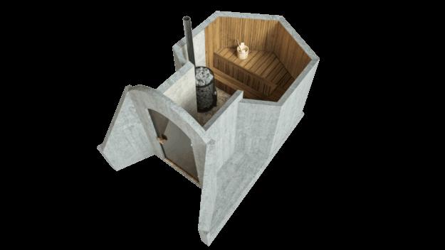 Sauna 4.5 m² STANDARD PACKAGE