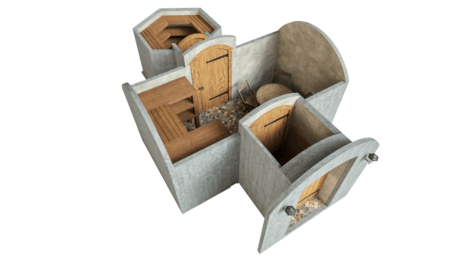 Cellar 16.2 m² STANDARD PACKAGE
