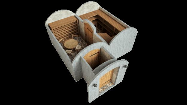 Cellar 21.4 m² STANDARD PACKAGE