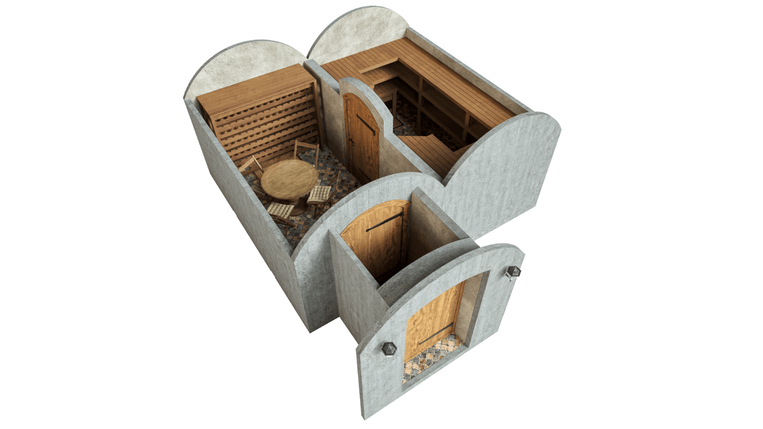 Cellar 21.4 m² STANDARD PACKAGE