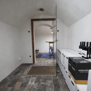 Wine cellar in Wiesenfeld Austria